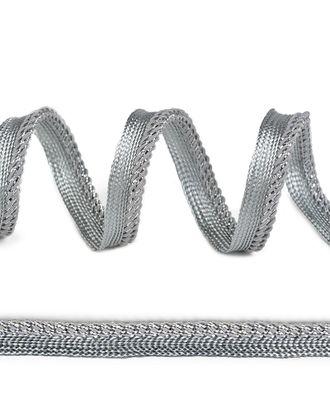 Кант декоративный ш.1,2см цв.белый/серебро арт. МГ-81590-1-МГ0748774