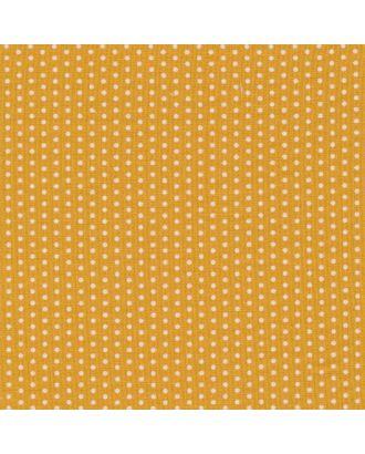 Бабушкин Сундучок 140±5 г/м² 100% Хлопок цв.БС-17 кр.горох ярко-желтый уп.50х55 см арт. МГ-91711-1-МГ0755421