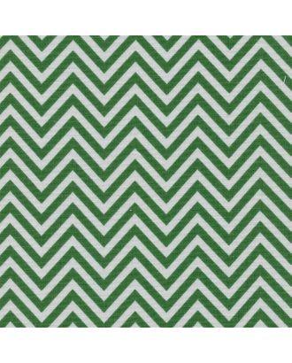 Бабушкин Сундучок 140±5 г/м² 100% Хлопок цв.БС-20 зигзаг ярко-зеленый уп.50х55 см арт. МГ-91795-1-МГ0755424