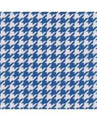 Бабушкин Сундучок 140±5 г/м² 100% Хлопок цв.БС-31 гусиная лапка ярко-синий уп.50х55 см арт. МГ-91421-1-МГ0755435