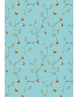 Версальские Сады 146±5 г/м² 100% Хлопок цв.ВС-05 голубой уп.50х55 см арт. МГ-91615-1-МГ0755463