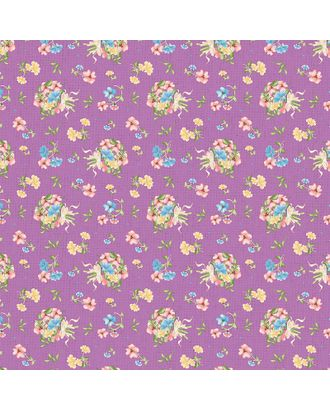 Нежная История 146±5 г/м² 100% Хлопок цв.НИ-12 фиолетовый уп.50х55 см арт. МГ-91951-1-МГ0756522