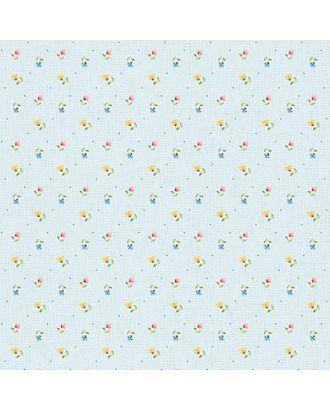 Нежная История 146±5 г/м² 100% Хлопок цв.НИ-20 голубой уп.50х55 см арт. МГ-91840-1-МГ0756530