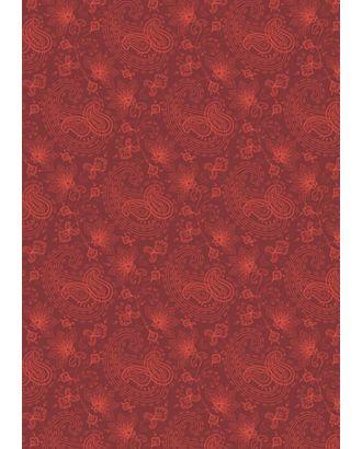 Сказочный Восток 146 г/м² 100% Хлопок цв.СВ-17 красный уп.50х55 см арт. МГ-91227-1-МГ0756589