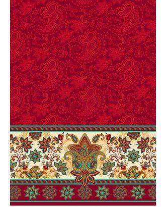 Сказочный Восток Панель 146 г/м² 100% Хлопок цв.СВ-02 красный уп.60х110 см арт. МГ-90868-1-МГ0756592