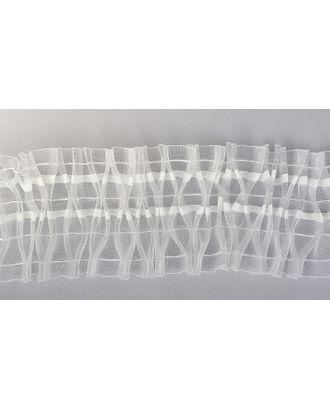 Лента шторная 100мм сборка ромбик цв.прозрачный уп.50м арт. МГ-81853-1-МГ0757189
