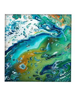 Набор Флюид Планета Земля (5 цветов) 30х30 см арт. МГ-81888-1-МГ0757590