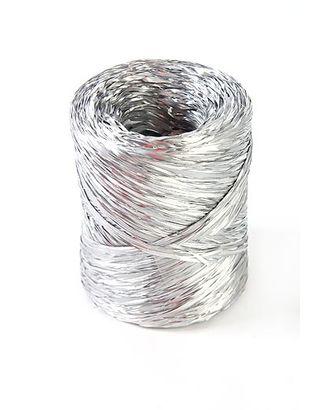 Рафия 203/70 старметал- серебряная (1.5см х 200м) арт. МГ-82747-1-МГ0763797