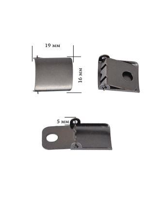 Застежка для бейсболки металл р.1,6см арт. МГ-83088-1-МГ0764711