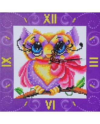 "Набор ""Колор Кит"" картина со стразами-часы Маленькое чудо 30х30 арт. МГ-83499-1-МГ0767242"