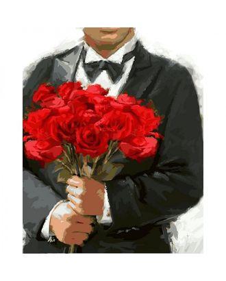 """Набор """"Колор Кит"""" картина по номерам Розы для любимой 40х50 арт. МГ-83632-1-МГ0767489"""