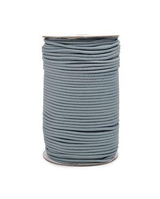 Резинка шляпная (шнур круглый) д.0,3см цв.F321 т.серый арт. МГ-92564-1-МГ0768787
