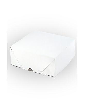 Коробка белая 134/00 квадрат (24х24х10см) арт. МГ-91843-1-МГ0788207