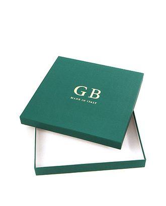Коробка карт. дольче- квадрат. крафт 25/11-48 дольче бьянко- темно-зеленая GB (25х25х3см) арт. МГ-91718-1-МГ0789342