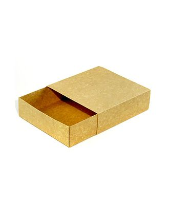 Коробка крафт бьянко 137/00 спич. коробок квадрат (20х20х6см) арт. МГ-91636-1-МГ0789654