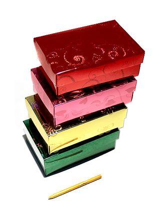 Коробка гологр. 119/01 прямоуг. крышка+дно (17х11х6см) арт. МГ-90715-1-МГ0791350