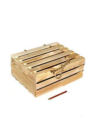 Коробка деревянная 305 прямоуг. с крышкой (25х34х12,5см) арт. МГ-91234-1-МГ0791896