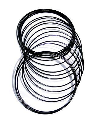 Проволока 115/05 круглая- черная (Ø1,5мм х 5м) арт. МГ-94555-1-МГ0792505