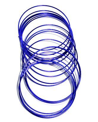 Проволока 120/55 круглая- синяя (Ø2мм х 5м) арт. МГ-90537-1-МГ0792512