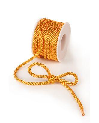 Шнур декор. 10/30 твист желтый (Ø3мм х 9м) арт. МГ-91455-1-МГ0792528