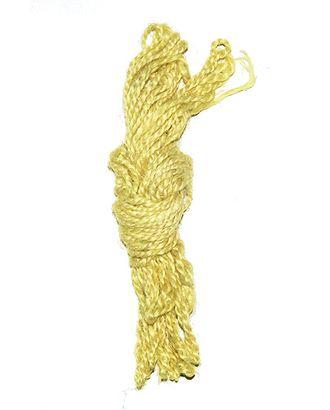 Шнур декор. 61/31 шпагат джутовый- лимонный тарт (Ø1,4мм х 10м) арт. МГ-93061-1-МГ0792546