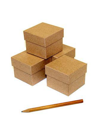 Коробка карт. крафт 015/000 куб мал.- натуральный крафт ( 6х6х5см ) арт. МГ-91476-1-МГ0792671