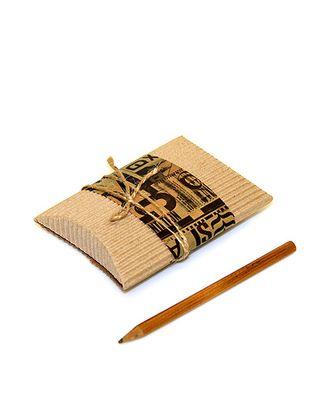 Коробка кьянти 200/640 слойка c декором urban wear ( 12х8х2см ) арт. МГ-91822-1-МГ0792685