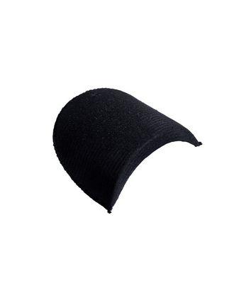 Подплечики обтянутые втачные АТ.ОВФ18 цв.черный, уп.10пар арт. МГ-93420-1-МГ0795935