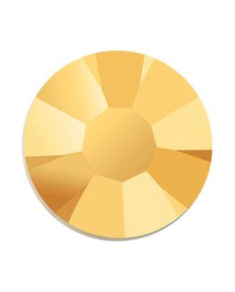 Стразы Preciosa клеевые горячей фиксации SS08 Crystal АВ 2,4 мм стекло цв.золото уп.144 шт арт. МГ-91889-1-МГ0796233