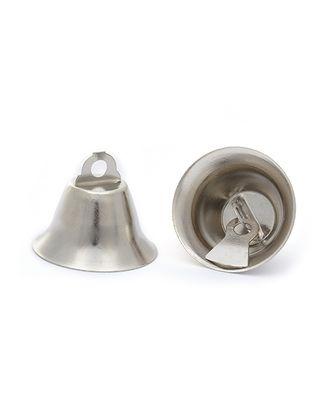 Колокольчик 20мм TBY.72001 цв.серебро уп.50шт арт. МГ-93689-1-МГ0803939