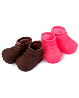 Ботиночки для куклы резиновые 75х45мм цв.ассорти уп.2 пары арт. МГ-93606-1-МГ0805759