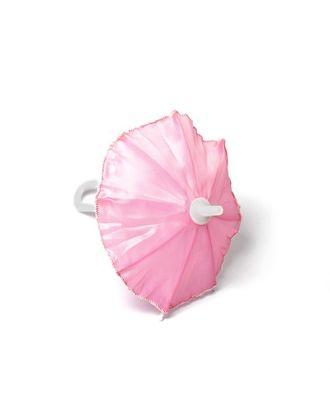 Зонт маленький 16см пластмассовый цв.св.розовый арт. МГ-94737-1-МГ0810883