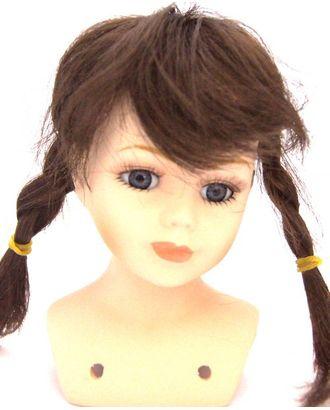 Волосы косички П30 цв.коричневый арт. МГ-90627-1-МГ0810985