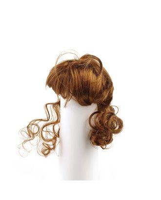 Волосы для кукол П50 (локоны) цв.коричневый арт. МГ-93545-1-МГ0811443
