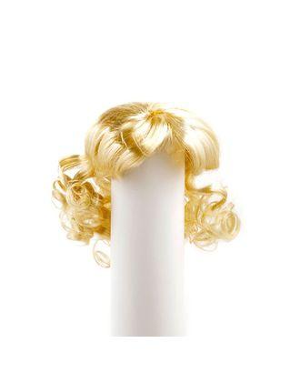 Волосы для кукол П50 (локоны) цв.блондин арт. МГ-94606-1-МГ0811445