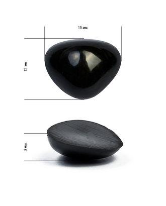 Носик для игрушек TBY.2,5 цв.черный 12х15 мм арт. МГ-97726-1-МГ0813102