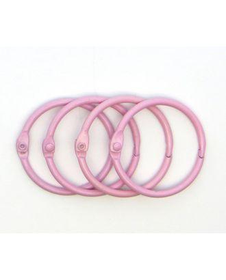 Кольца для альбомов розовый Ø45 мм уп.4 шт арт. МГ-104310-1-МГ0825290
