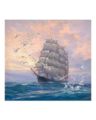 Картины по номерам Molly Сопровождение (20 цветов) 30х30 см арт. МГ-95281-1-МГ0859745