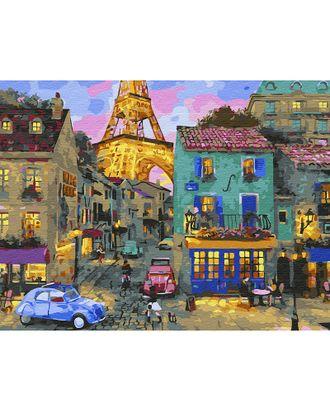 Картина по номерам с цветной схемой на холсте Molly Уютный вечер (24 цвета) 30х40 см арт. МГ-95048-1-МГ0859803