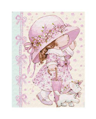Картина по номерам с цветной схемой на холсте Molly Маленькая модница (20 цветов) 30х40 см арт. МГ-95054-1-МГ0859807