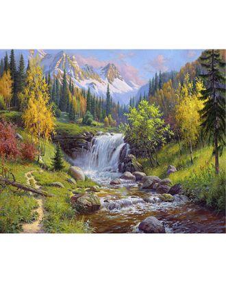 Картины по номерам Molly Прищепа. Горный ручей (31 цвет) 40х50 см арт. МГ-96379-1-МГ0859820