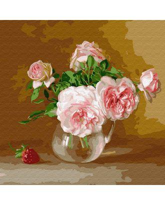 Картины по номерам Molly Бузин. Летний день (21 цвет) 30х30 см арт. МГ-95205-1-МГ0860080