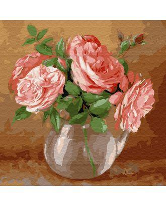 Картины по номерам Molly Бузин. Случайный букет (21 цвет) 30х30 см арт. МГ-95283-1-МГ0860085