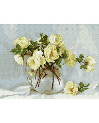 Картина по номерам с цветной схемой на холсте Molly Бузин. Майский букет (20 цветов) 30х40 см арт. МГ-95100-1-МГ0860089