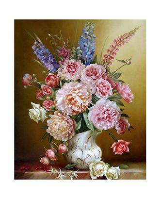 Картины по номерам Molly Бузин. Свежий букет (25 цветов) 40х50 см арт. МГ-96359-1-МГ0860103