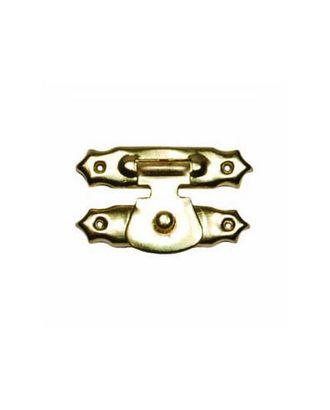 ШЗМ2.1.3 Декоративный накладной замок для шкатулок уп.10 шт. золото 26х16 мм арт. МГ-97559-1-МГ0869964