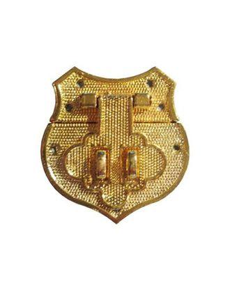 ШЗМ23 Декоративный накладной замок для шкатулок уп.2шт. 40х41 мм арт. МГ-106022-1-МГ0869966