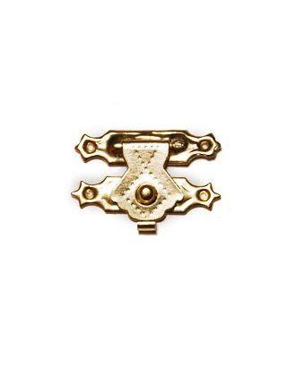 ШЗМ42 Декоративный накладной замок для шкатулок уп.10 шт. Золото 29х18 мм арт. МГ-97459-1-МГ0869968