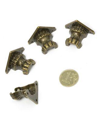 ШЖМ23.0.1 Ножка для шкатулки уп.4шт 35х25 мм арт. МГ-97414-1-МГ0872596
