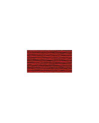 """Нитки для вышивания """"Gamma"""" мулине (0001-0206) 100% хлопок 24 x 8 м цв.0062 красный арт. МГ-96783-1-МГ0876271"""